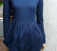 Divna trikotazna teget haljina 20% KASMIR