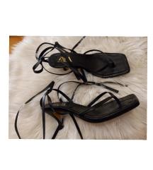 Zara kožne sandale/rimljanke