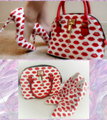 ALDO LOVE TO LOVE cipele i tašna