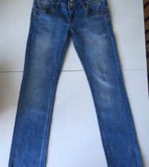 LTB jeans straight fit W27 L30 svetle Handmade