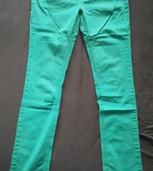 Zelene farmerke XS-S
