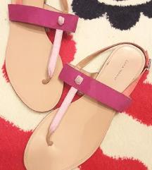 Zara kozne japanke/sandale. Br. 37, ug. 23 cm