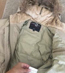Carr&co perjana jakna sa pravim krznom