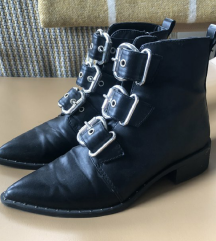 Missguided buckle boots