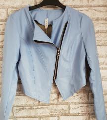 NOVA Plava jakna sa etiketom