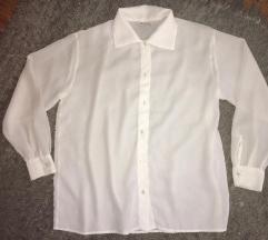 Nova bela kosulja bluza