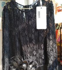 NOVO P S crna svecana haljina M