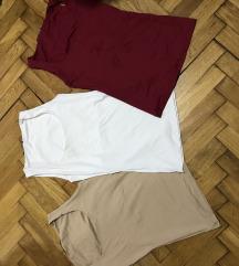 Zara majice 3 kom