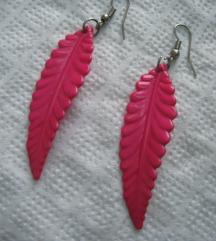 Mindjusice roze perje iliti listici