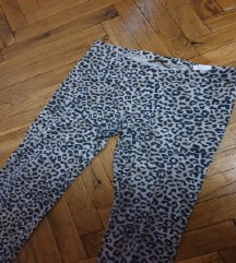 Leopard print pantalone
