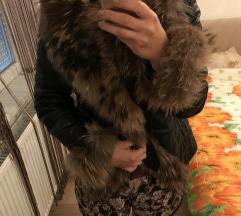 Kozna jakna sa prirodnim krznom