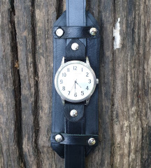 Kožna narukvica za sat Duo (Prirodna koža)