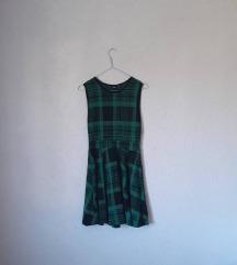 Asos Skater karirana haljina
