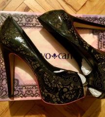 Cravo Canela crne kozne lakovane cipele