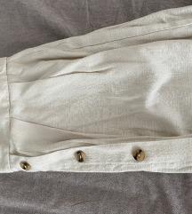 Pamučno lanena suknja