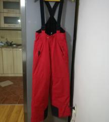 MAIER ski crvene vodootporane pantalone