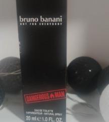 Bruno Banani Dangerous Man muški parfem 20 ml