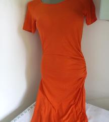 Pro pin grande narandzasta haljina S/M