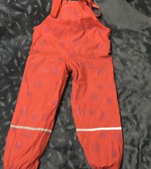 Vodootporne pantalone na tregere/tregerice za decu