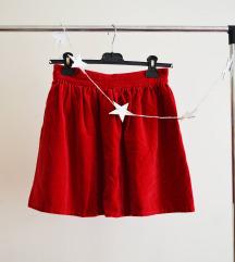 ❤ Velvet crvena suknja ❤ Rasprodaja ❤