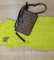 Žuta kratka haljina