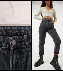 Bershka high waist mom jeans