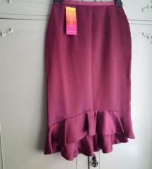 NOVO Promod satenska suknja