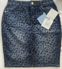 Fracomina jeans suknja