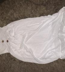 Dugacka nova bela haljina sa etiketom