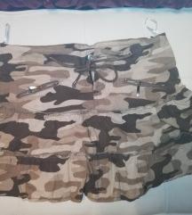 Vojnicka maskirana suknja