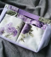 Purple Flowers Torbica/Neseser