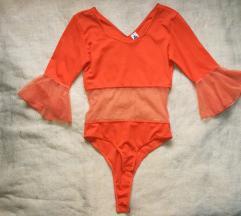 Vintage narandzasti bodi 38