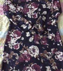 Cvetna haljina xxl