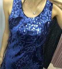Svecana haljina sljokice *NOVO*