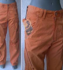 pantalone narandžaste br 44 ili M i S WPM DENIM