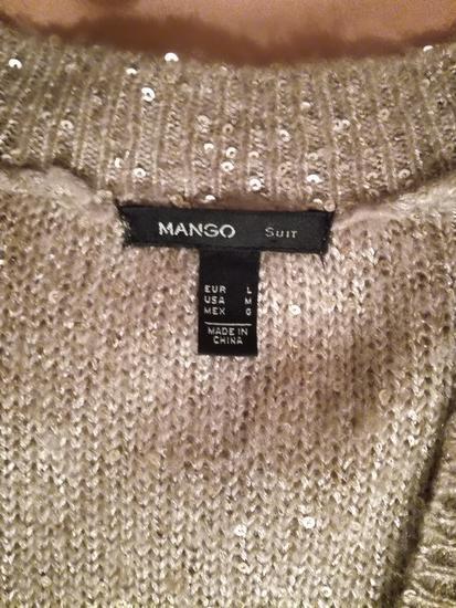 Mango džemper sa šljokicama L
