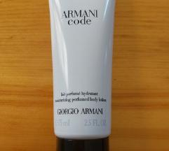 Armani Code original mleko NOVO