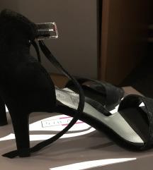 Zenske kozne sandale / 5th AVENUE / JEDNOM NOSENE