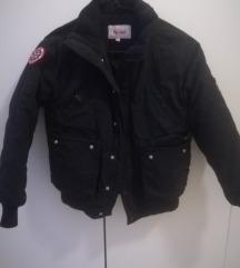 Crna, topla Crocker jakna