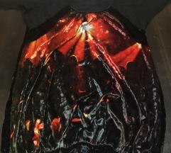 Crna haljina-tunika