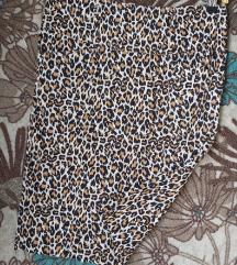 Animal print moderna suknja vel M