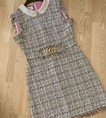 Gucci frayed haljina
