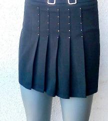 crna mini suknja MOSS broj 38