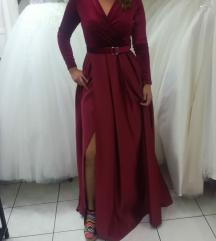 Svecana haljina duga dugi rukav