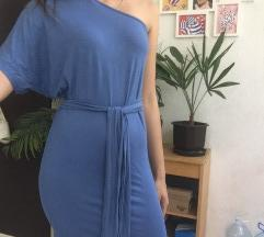 Pamucna haljina na jedno rame