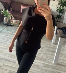 Crni sako strukiran