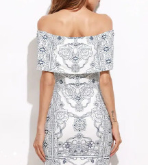 Off shoulder haljina NOVA