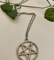 Pentagram ogrlica