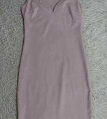 Elegantna roze haljina