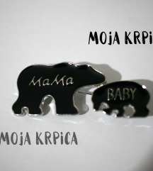 Bros mama & baby bear
